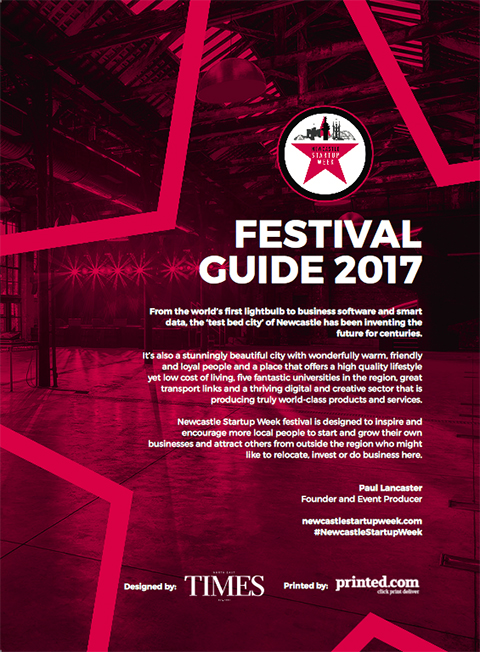 Newcastle Startup Week Festival Guide